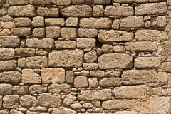 Fästningvägg som jousting Arkivfoton