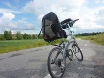 Få av med din favorit- cykel Royaltyfria Bilder