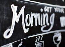 Få din morgon Royaltyfria Bilder