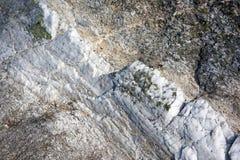 Fåfäng rå marmor Arkivfoton