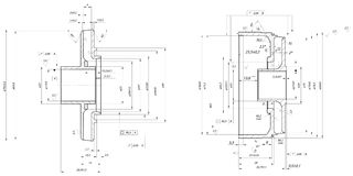 Fåfäng roterande pump för hjul och för handbok vektor illustrationer