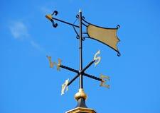 Fåfängt för väder på blå himmel Royaltyfria Foton
