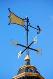 Fåfängt för väder på blå himmel Royaltyfria Bilder