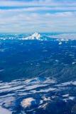 Fågel Eye beskådar av Mt.-huven i Oregon, USA. Arkivbilder