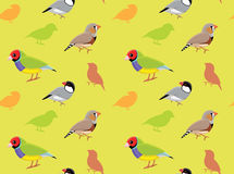 Fågel Finch Wallpaper Royaltyfria Bilder