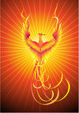fågel phoenix Royaltyfria Foton