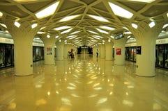 Fågel-rede-stil gångtunnelstation Royaltyfri Foto