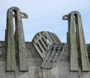 fågelbro Arkivbild