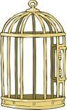 Fågelbur Royaltyfri Bild