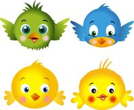 fågelfågelungar vektor illustrationer