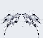 fågelförälskelsevatten