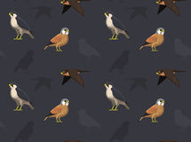 Fågelfalktapet Arkivbilder