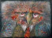 fågelfantasi stock illustrationer