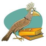 Fågelhandbok royaltyfri illustrationer