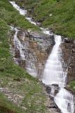 Fågelkvinnanedgångar, glaciärnationalpark Royaltyfria Foton