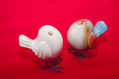 Fågelleksaker Royaltyfria Bilder