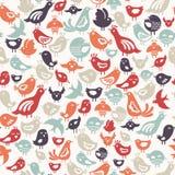 fågelmodell stock illustrationer
