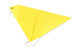 fågeln handcraft origami Royaltyfria Foton