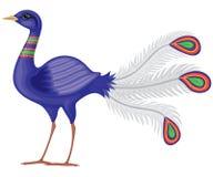 fågelparadis royaltyfri illustrationer