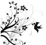 fågelprydnad Royaltyfri Foto