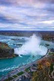 Fågelsikt av Niagara Falls Fotografering för Bildbyråer