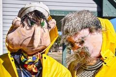 Fågelskrämmafestival, Mahone fjärd, Kanada Fotografering för Bildbyråer