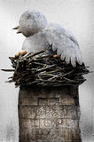 fågelskulptur Royaltyfri Foto