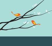 fågeltree Arkivfoto
