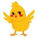 fågelunge little royaltyfri illustrationer