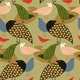 2 fåglar Royaltyfria Bilder