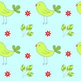 fåglar mönsan seamless Royaltyfri Foto
