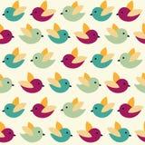 Fåglar mönstrar Arkivbild