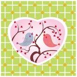fåglar två Royaltyfri Bild