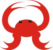 fånga krabbor havet Arkivfoton