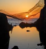Fånga solnedgång Royaltyfria Foton