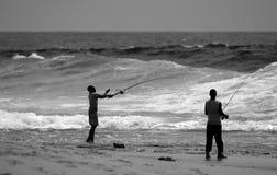 fångande fisk Royaltyfri Foto