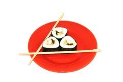 fångar krabbor japanska sushi Royaltyfria Bilder
