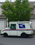 Fången post? Arkivfoton
