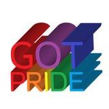 Fångna Pride Banner Fotografering för Bildbyråer