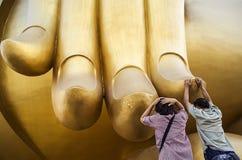 Fé em buddha Fotos de Stock Royalty Free