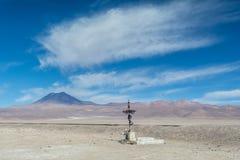 Fé em San Pedro de Atacama Foto de Stock