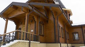 Fédération de Russie, région de Belgorod, Belgorod, St de Korochanskaya, Serafim Sarovsky Temple photos libres de droits