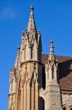Fédération gothique : Contreforts de vol de la basilique de St Patrick, Fremantle, Australie occidentale Photo stock