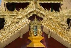 Fée à la pagoda de Shwemawdaw, Myanmar Photos libres de droits