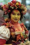 Fée à la Renaissance Faire images stock