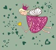 Fée d'amour illustration stock