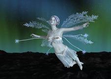 fée d'hiver du rendu 3D Photo libre de droits