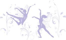 Fées de danse Images libres de droits