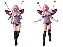 Fée de papillon illustration libre de droits