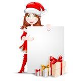 Félicitation de Noël Photographie stock